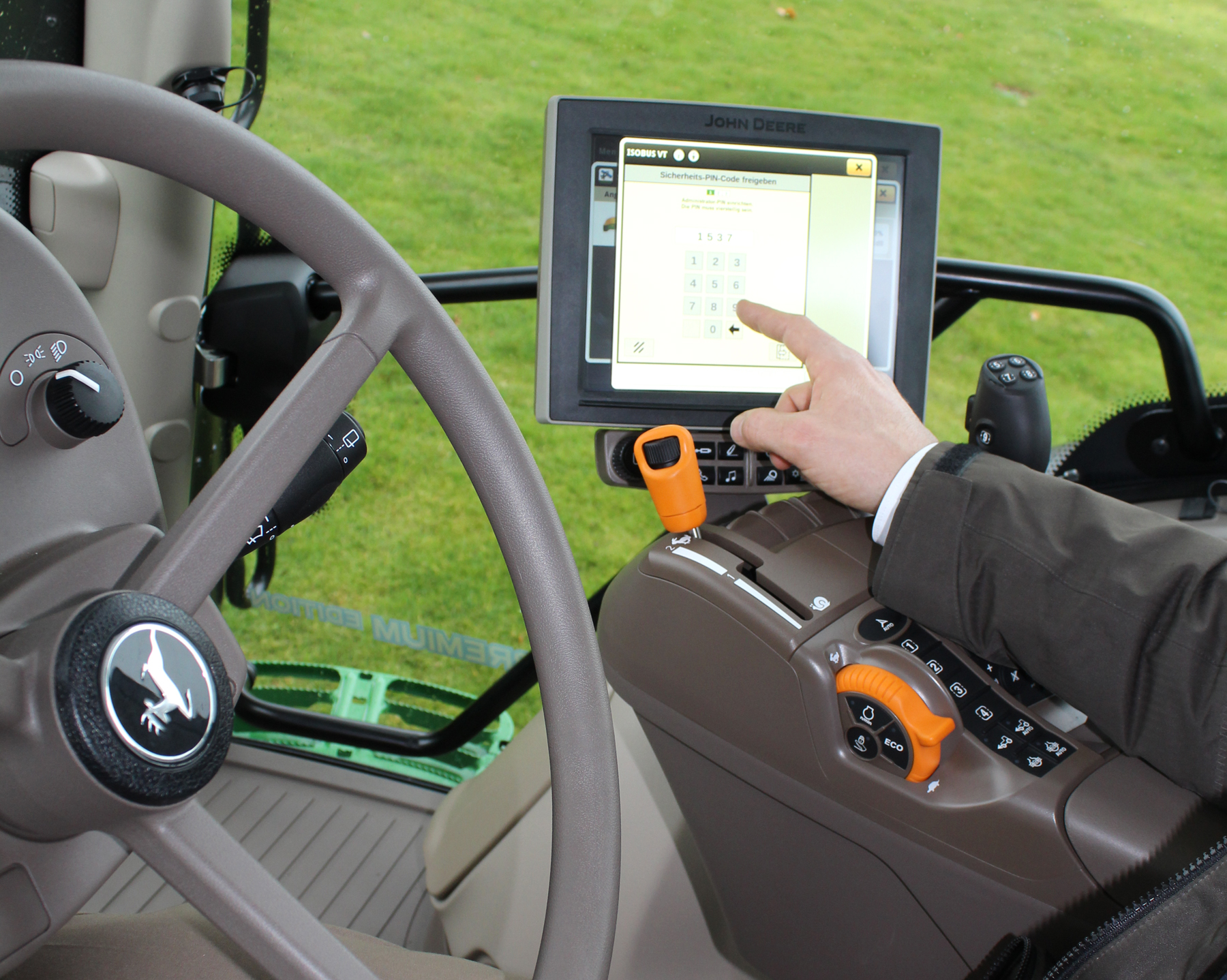 New John Deere security feature locks thieves out
